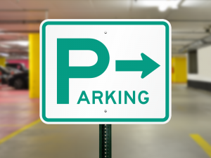 parking-lot-sign